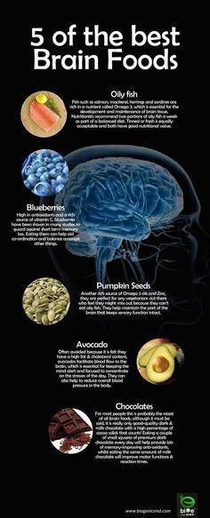 5 of the best brain foods