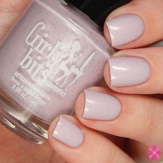 'Love Your Elf' - A delicate pink with lavender undertones, and silver shimmer and flakes. So soft and pretty for the winter season. It reminds me of cozy hats and gloves, and wintry lounge wear. $13 CAD