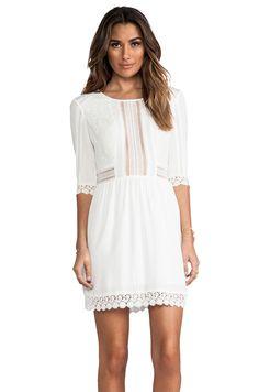 HEARTLOOM Aimee Dress en Blanco | REVOLVE