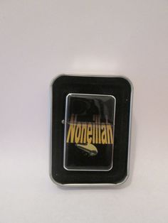Noneillah's fashionable Noneillah designer butane lighter designs are one of the kind designed by Montclair's well know hip hop artist Sean Cos Mason aka Deshon Johnson's mother Naomi Johnson. This chrome enamel designer money clip watch print is uniquely created. No designs are better than mine!