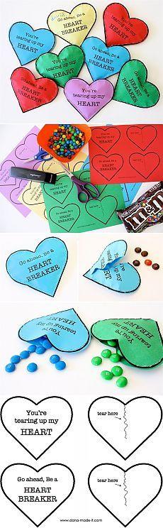 Валентинки с конфетами к 14 февраля / Работа с бумагой / PassionForum - мастер-классы по рукоделию