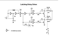 Latching Relay Bypass Circuit by R.G Keen  tak