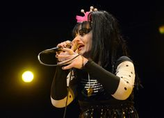 Nina Hagen, at the Cargö. Caen, 6 Nov. 2012. @ JB Quentin.