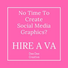 Need Social Media Graphics? Allow DeeDee Creative to help you. https://deedeecreative.com/ Virtual Assistant | VA | Lady Boss | DeeDee Creative | Creative VA