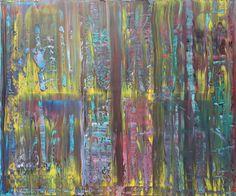 Ölmalerei - Abstract oil painting - RM 811 - 16 - ein Designerstück von RMocellin bei DaWanda
