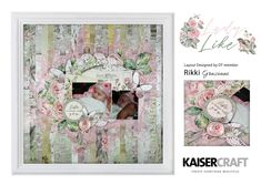 Feminine & delicate florals are the essence of the Lady Like collection. Aged in elegance & empowered by loving sentiments, adorn your next project with dainty shades of pink & antique touches.