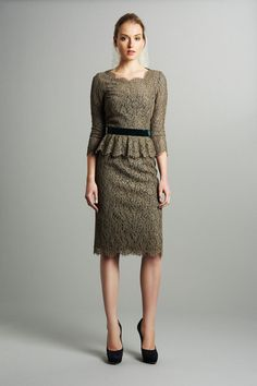 Luisa Beccaria Pre-Fall 2013 Collection via style.com