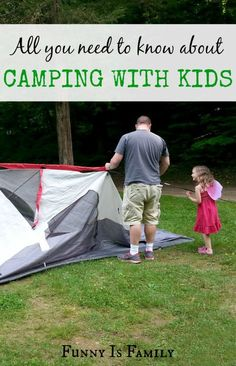 This extensive and incredibly helpful list will ensure a successful camping trip with kids! #travel #packing