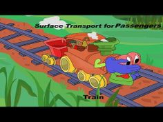 Surface Transport for Passengers || Kids Learning || Cartoon Videos