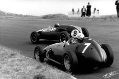 Brabham(8) - Cooper T51 - Bonnier(7) - BRM P25 - 1959 Holland