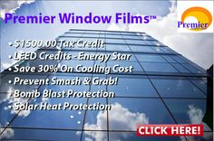 Solar Heat Protection #commercialwindowfilm  Call Now for Free Estimate 866 274 2769