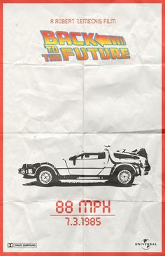 - Back To The Future Poster by ~creatingsurreal on deviantART