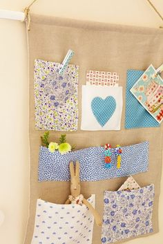 This would be cute done for a girl's room for small animal/doll storage