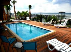 Relax in style with a private pool and gorgeous views of the Sound at Via De Luna 117 in Pensacola Beach, FL. Beach Vacation Rentals, Florida Vacation, Florida Home, Vacation Ideas, Pensacola Beach Florida, Private Pool, House Front, Beach House, Relax