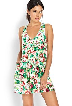 Garden Party Fit & Flare Dress | FOREVER21 - 2000073344