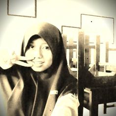 in the class room. someday i'll miss it~