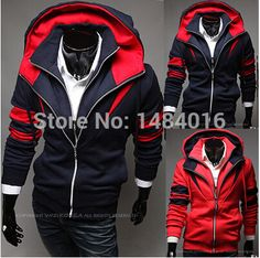 Find More Hoodies & Sweatshirts Information about Wholesale Winter Fashion New Hoodies Sweatshirts, Printed Two Zipper Hoodies Men.Outerwear Sports Suit,Drop&Free shiping,High Quality sweatshirt zipper,China sweatshirt hoodie Suppliers, Cheap sweatshirt men from New More One on Aliexpress.com