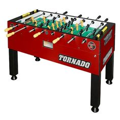Red Foosball Table - Party Rental - Ames, Iowa
