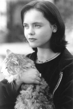 christina ricci & Cat.