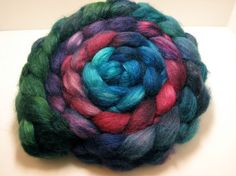 Blue Faced Leicester/Tussah 85/15 Combed TOP 5.0 oz - Hanging Garden 1. $26.25 + 6.00 shipping.