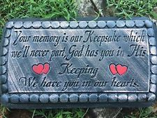 If Tears could build Concrete Bench top Mold memorial bench Mold Top Only
