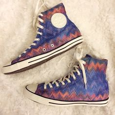 bca400df1f2c Converse Missoni Chuck Taylor Hi Top Sneakers Brand new with tags and box