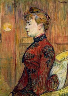 The Policeman s Daughter, 1890  Henri de Toulouse-Lautrec