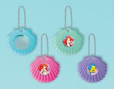 Little Mermaid Shell Mirror | 12 ct