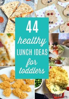 Do you need healthy lunch ideas for toddlers? here you'll find easy, delicious and nutritious toddler lunch ideas that even your picky eaters will love. Nutritious Snacks, Healthy Foods To Eat, Healthy Cooking, Healthy Snacks, Healthy Preschool Snacks, Healthy Toddler Lunches, Toddler Snacks, Toddler Dinners, Toddler Recipes Healthy