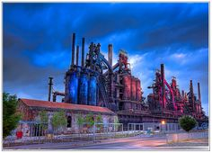 Never a shortage of things to do and see in the Lehigh Valley!  Check out Bethlehem Steel Stacks!