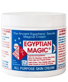 Egyptian Magic All Purpose Skin Cream is a multi-tasking miracle cream that can work wonders on your complexion, heal scars and bruises, relieves chapped skin and even adds lustre to your hair.