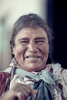 Portrait of an Old Mexican Woman