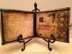 M.E. and My Walk on the Creative Side: A #Tim Holtz Fan in King Arthur's Court: A Medieval Take on Vintage