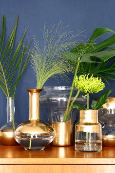 Diy Golden Vases