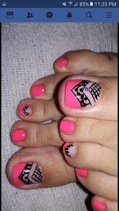 Toe Nail Art, Toe Nails, Toe Nail Designs, Manicure, Beauty, Denim, Toenails, Work Nails, Fairy