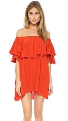 MLM LABEL Maison Off Shoulder Dress [ WEAR ON THE SHOULDER + AS A TUNIC]...