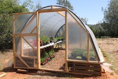 As any experienced gardener will tell you, having a greenhouse can be an invaluable tool in the food-growing toolbox. Having a greenhouse at one's disposal opens up many different growing possibilities and can be a huge season extender in areas where the number of good growing days is limited. Greenhouses make it easier to get new