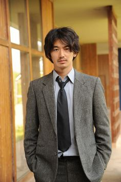 Japan Fashion, Mens Fashion, Japanese Icon, Formal Coat, Asian Men, Jacket Style, Gorgeous Men, Actors & Actresses, Gentleman