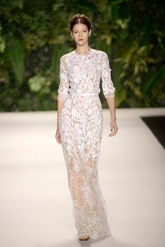 New York Fashion Week - primavera-verão 2014 - Naeem Khan