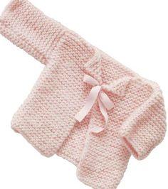 Baby Knitting Patterns Free Knitting Pattern Pink Infant Cardigan Sweater Pattern t. Baby Cardigan Knitting Pattern Free, Knitted Baby Cardigan, Knit Baby Sweaters, Baby Knits, Pink Cardigan, Cardigan Pattern, Cardigan Sweaters, Pink Sweater, Knitting For Kids