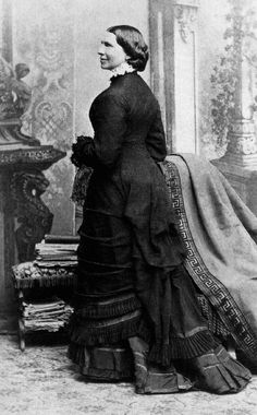Clara Barton at the time she established the American Red Cross in 1881. She is 59 years old. This photograph was taken in Dansville, New York where she was living at the time.