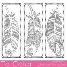 Image result for Free Bookmarks to Color and Print Out