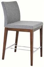 Soho Concept Aria Counter Stool Wood Base Stoolat www.Accurato.us