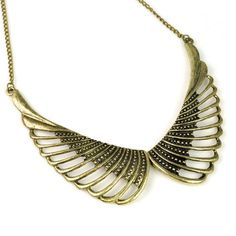 Aliexpress.com : Buy antique brass wing charm choker necklace,necklace with angel wing,NL 1910 from Reliable angel wing  necklaces suppliers on Well Done Fashion Jewelry Co.,Ltd. $4.00