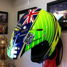 Capacete Chad Reed - MX of Nations 2012