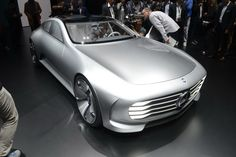 Mercedes' Concept IAA Came From The Future To Teach Aerodynamics [w/Video]