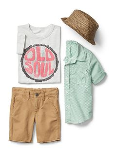 Gap Little Boys Old Soul Outfit