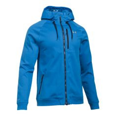Designed with UA ColdGear® technology, this jacket looks like a hoodie but offers all of the features he loves in jacket. Durable water repellency, windproof construction and the cozy comfort of the heat reflective lining are just a few of the reasons this jacket is the ideal addition to his cold weather wardrobe.