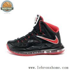 Nike Lebron X 10 2012 Black Navy Red White Medal
