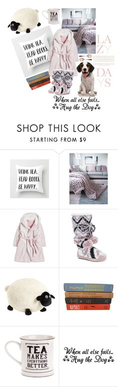 """""""lazy days and doggy cuddles"""" by msmisty on Polyvore featuring Lazy Days, M:UK and Nici"""